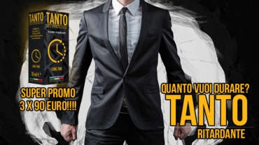 RITARDANTE TANTO IN SUPER PROMO!!!