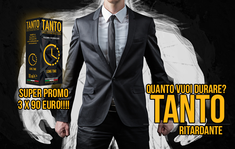 RITARDANTE TANTO IN SUPER PROMO!!!